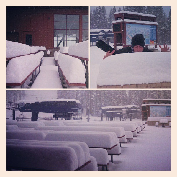 29 inches of NEW Snow at Sugar Bowl, Lake Tahoe! Lets hope there is more on the way!