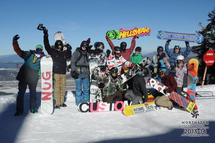 Having a great day riding around the hill for World Snowboard Day! Hope you're out enjoying the snow with your friends.