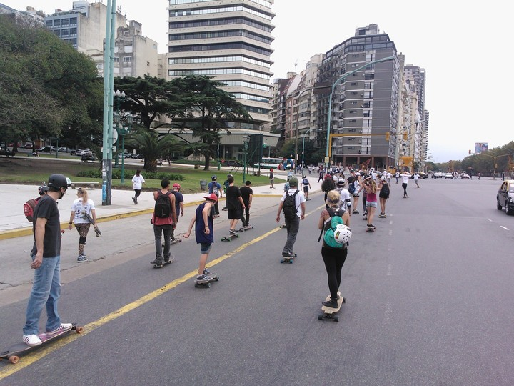 5to longboard day