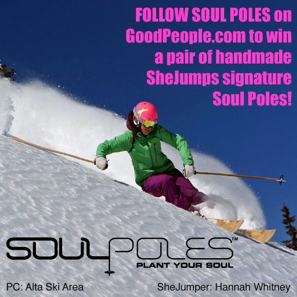 Tomorrow is the last day to win a pair of Soul Poles! Follow to Win! #plantyoursoul @shejumps @soulpoles @amypallenberg @loulou @sgcurry @SpencerRomanchuk @Freeskierspence @zonian @katiehomes @avpdesign
