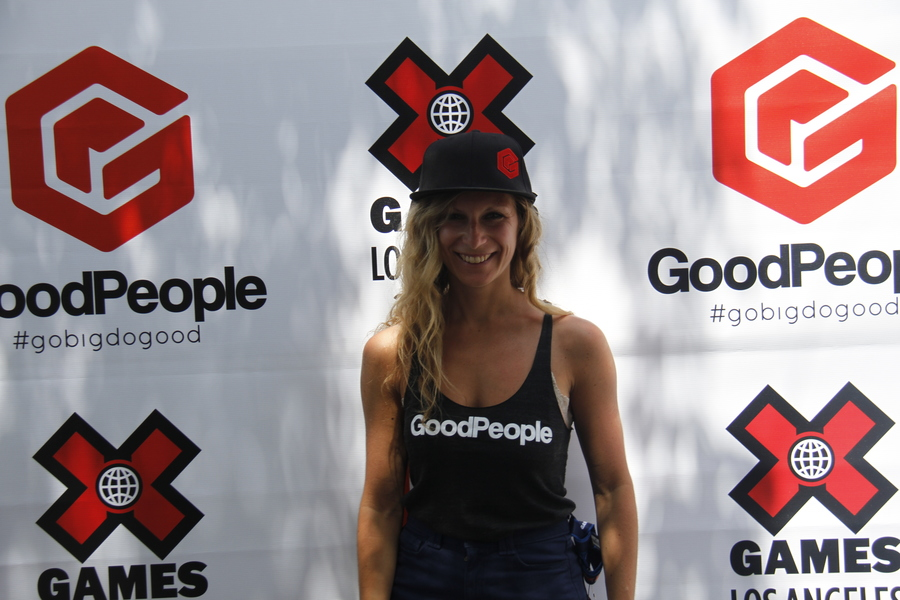 Love helping GoodPeople at the X Games! Come check out our booth
