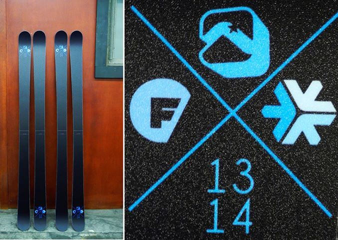 These stunt sticks are headed out to Windells Camp for a Freeskier Magazine giveaway! They turned out sick and hopefully will find a great home. Stay tuned to find out who won....
