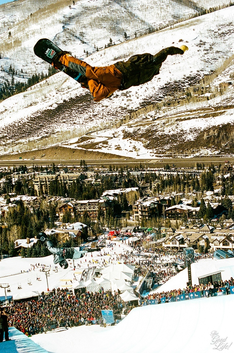 Love this photo of my home mountain Vail and the Burton US Open by The Good Life
