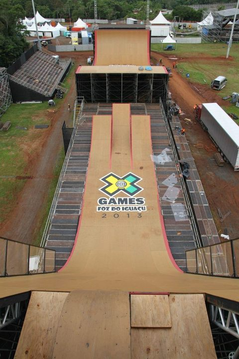 Les compartimos las fotos del backstage , cortesia de XGames Foz Do Iguaçu. Enjoy!