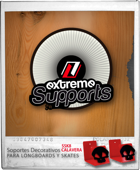 Logotipo Extreme Supports / Skates&longboards