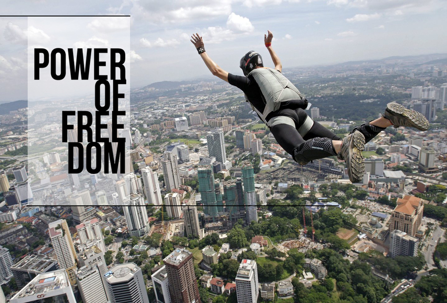 Power of freedom