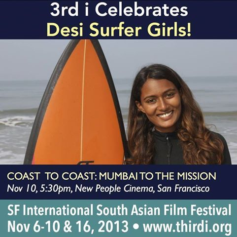 BGSers - Our short film on Ishita Malaviya, India's first female surfer, made it into this year's Third I South Asian Film Fest! :) If you missed our screening at Patagonia, you can catch it on November 10th in San Francisco at this Festival! :)
