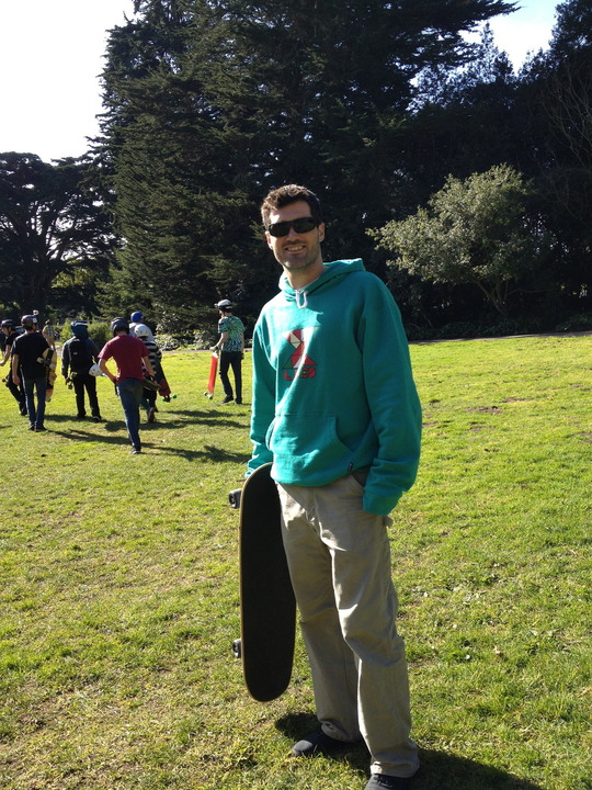 Skate through Golden Gate Park in San Francisco