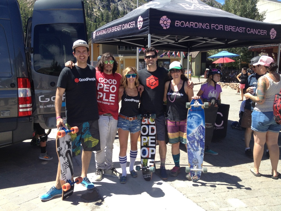 We're feeling good today because we got to participate in B4BC's Skate the Lake this weekend! It was a pretty awesome accomplishment for the 100+ people who skated 28 miles around Lake Tahoe AND raised over $20,000 for the fight against cancer #GoodMonday