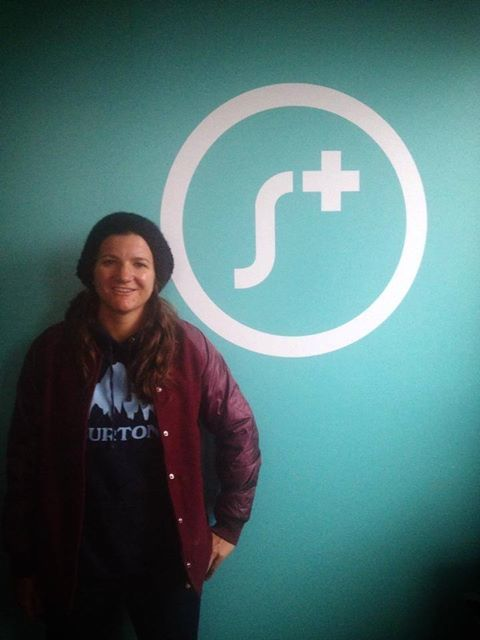 Our good friend and Olympic snowboarder, Kelly Clark came by our Brooklyn office for a visit today to say hi. Best of luck for the gold medal this winter in the Sochi Olympics.  She's super inspiring and very charitable with her foundation!