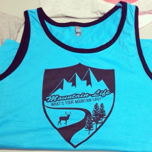 So excited for our #spring and #summer #tanks #mountainlife #mountainlifeco #alpine #ascent #snowboarding #boarding #boardlife #shred #pow #skateboarding #longboarding #BMX #hunting #woods #camping #climbing
