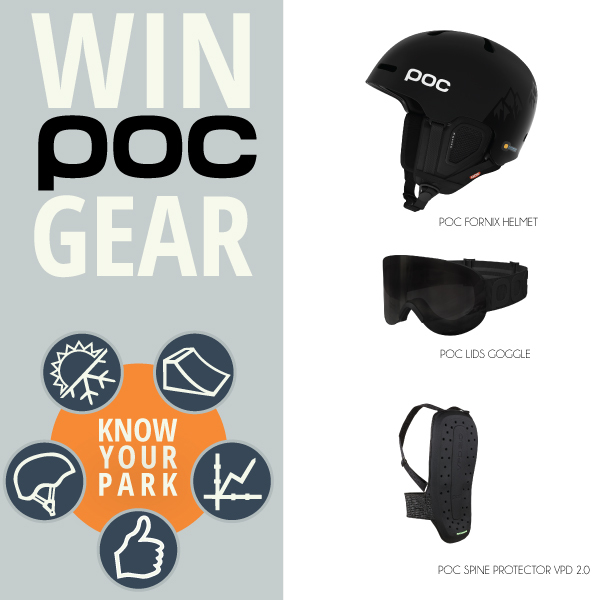 Win amazing prizing in the #knowyourpark Instagram Contest | Tag your photos @POCSPORTS and @Hi5sFoundation