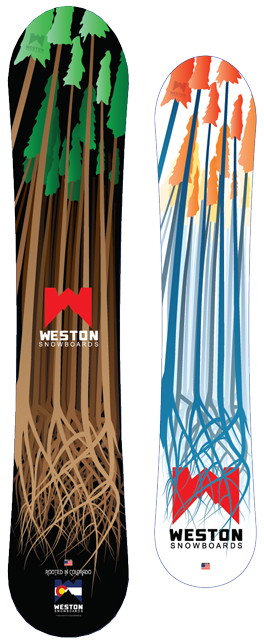 We've got Weston Snowboards in the house! Super stoked these guys are in the marketplace because they've got some super rad boards and their from Minturn, CO