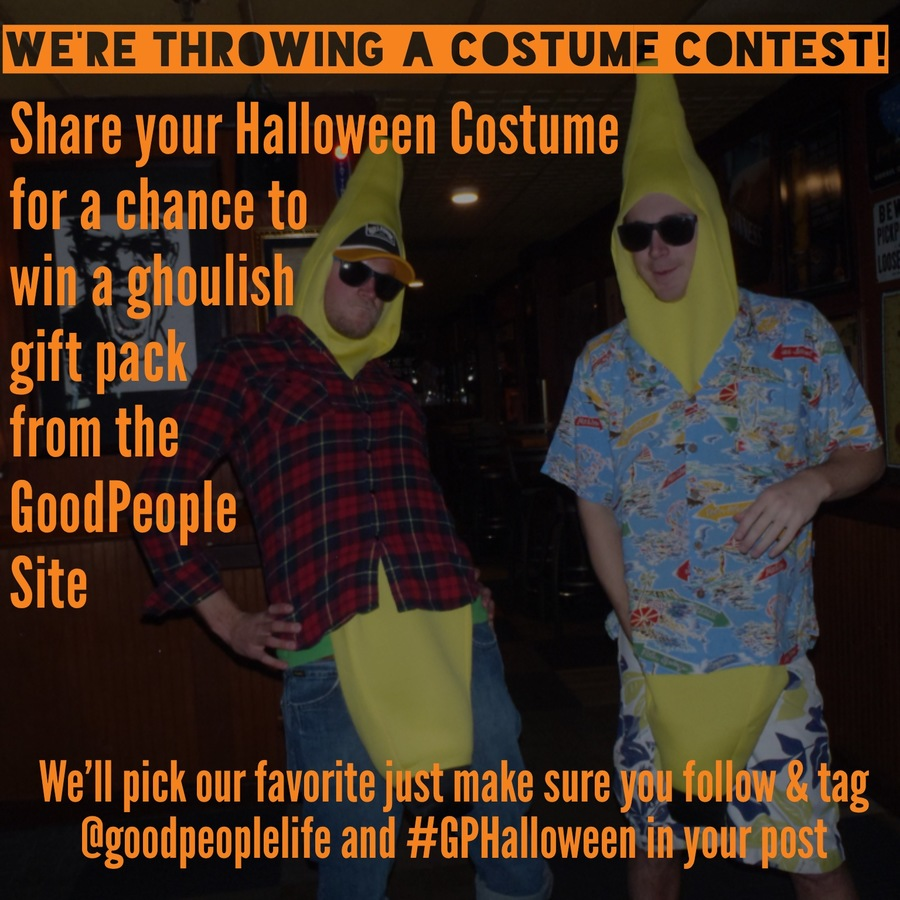 Happy Halloween Rad Shredders! We're throwing a Costume Contest over on Instagram @GoodPeopleLife so it's time to let your freak flag fly!