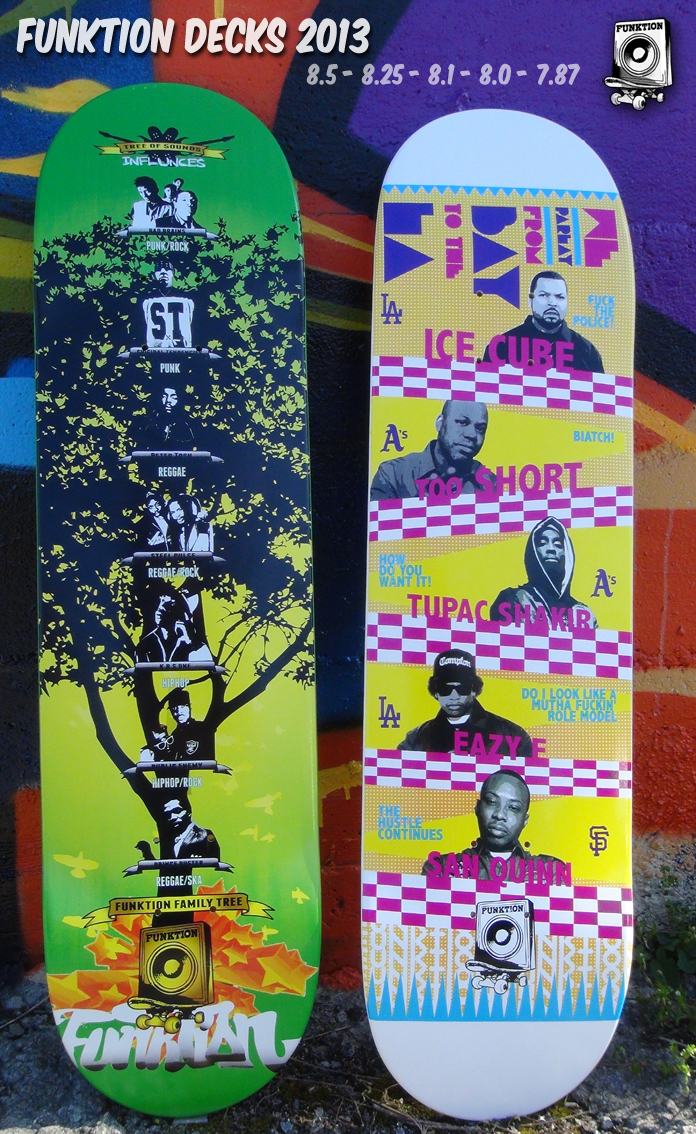 Funktion Skateboards 2013