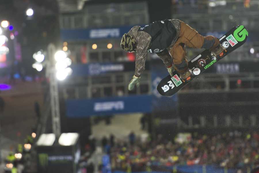 Danny Davis and that sick method in the superpipe and the Aspen X Games