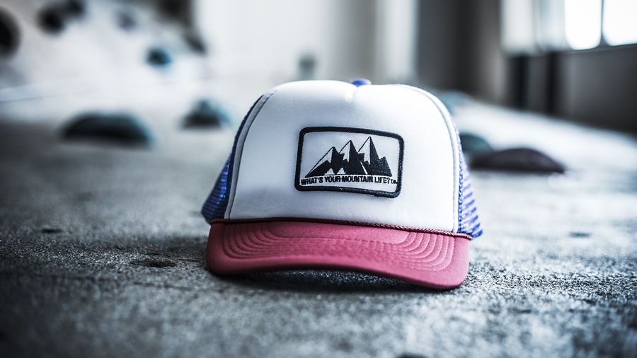 "Support your love for the #red, #white, and #blue this 4th of July weekend with our limited edition, ""What's Your Mountain Life?"" Snapback Hat"