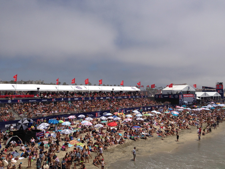 Booommmm!!!! Huntington Beach exploded yesterday with every bikini clad girl in California crowding the event. This event is a spectacle, something happening in every direction!