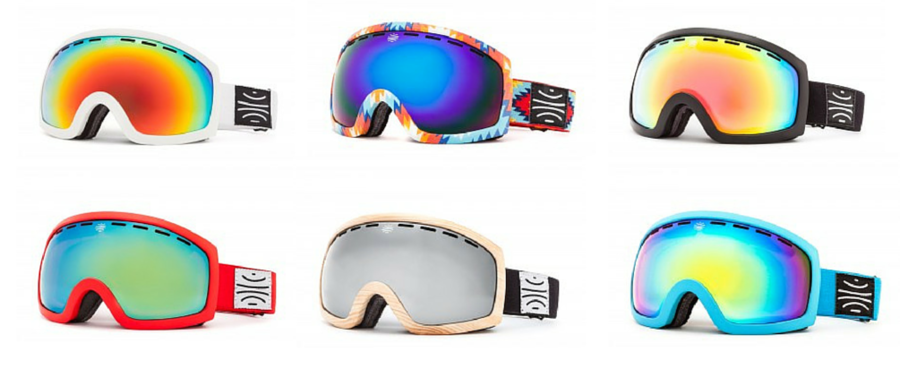 Made with hemp, bioplastic and recycled fleece, the new MK. II snow goggles bring something different to the slopes.