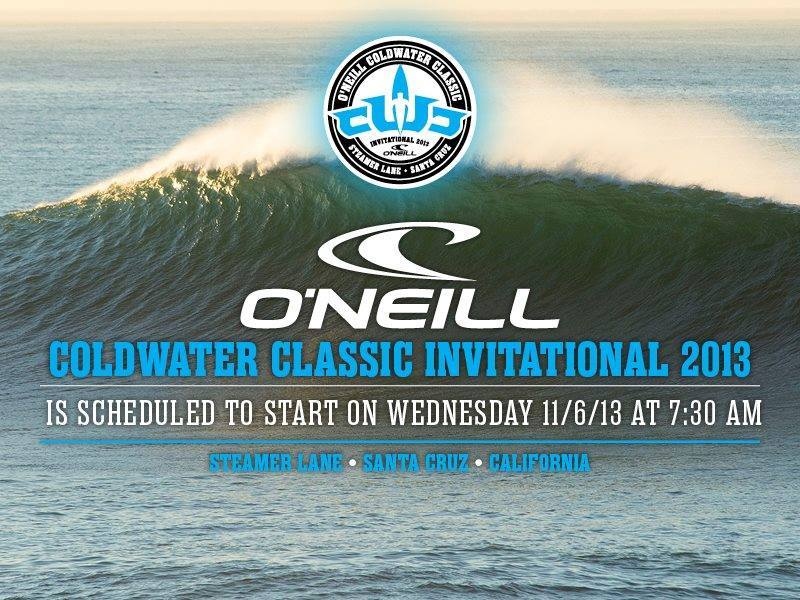The O'Neill Coldwater Classic is back in Santa Cruz and starts tomorrow with  a new format. Head over to  Steamer Lane to catch all the action.