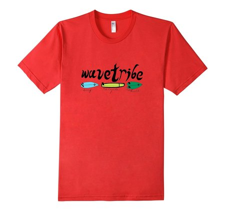 Tees - Wave Tribe Surf Recycle Reduce Organic T-Shirt