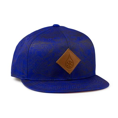 Ball Caps & Snapbacks - Kind Design Kind Topo Flat Brim