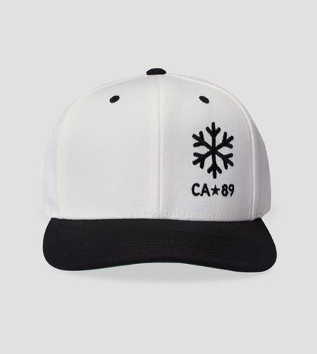 Ball Caps & Snapbacks - California 89 Flattop Hat Snowflake