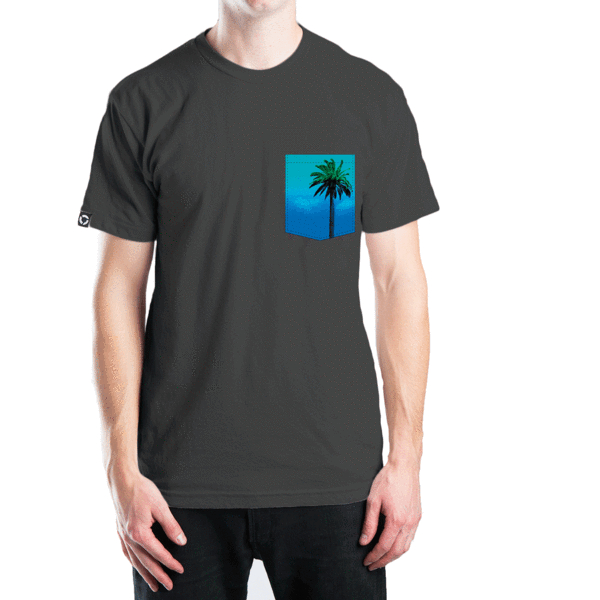 Tees - Concrete Coast Create Your Pocket Tee