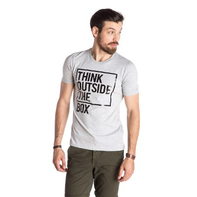 Indumentaria - Kout Remera Think