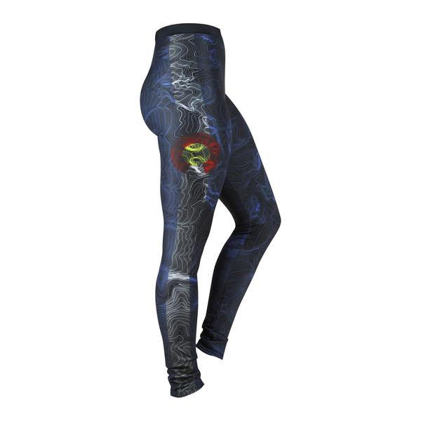 Leggings - Kind Design Red Rocks Topo Leggings (Colorado Theme)
