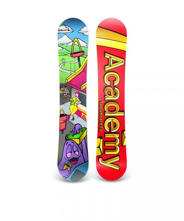 Boards - Academy Snowboards Propa-Camba Academy