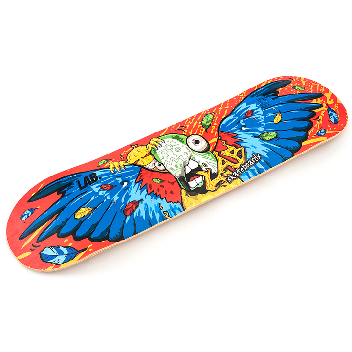 Tablas - Lab Skateboarding Deck de Skate Guacamayo