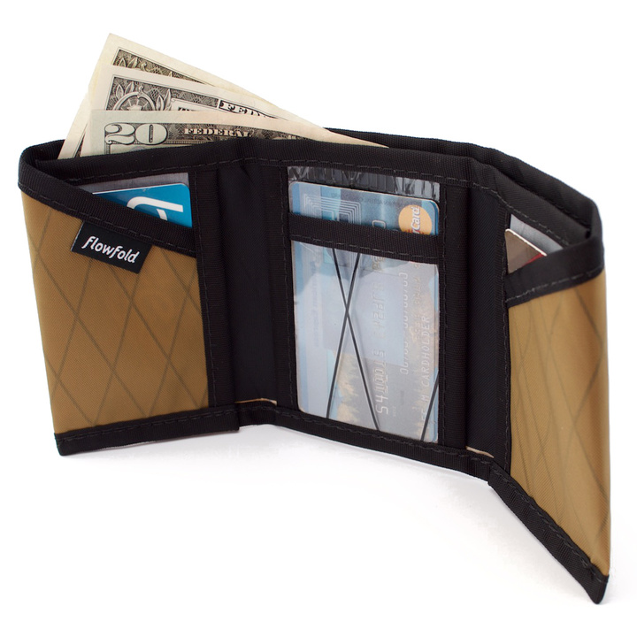 Wallets - Flowfold Traveler Limited Trifold Wallet