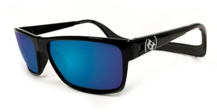 Sunglasses - Hoven Vision MONIX Black Gloss - Dark Grey Polarized