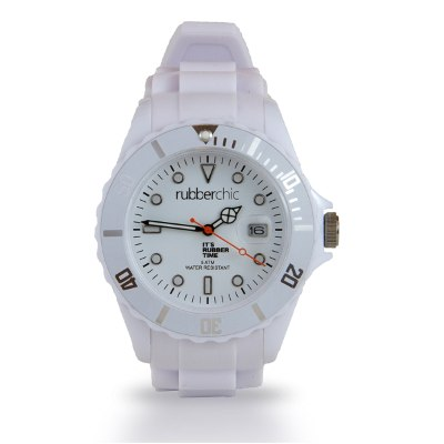 Relojes - Rubberchic Reloj Basic White