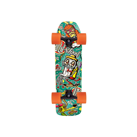 Lab Skateboarding Skateboard Completo Old School Retro - Ruedas LAB 70mm.