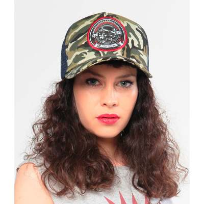 Fight For Your Right Gorra Fight For Your Right Trucker Original Snapback Camou