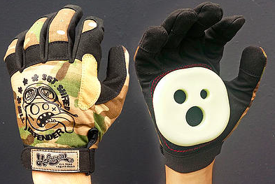 Gloves & Mittens - Holesom Longboards Sgt. Shred Slide Gloves