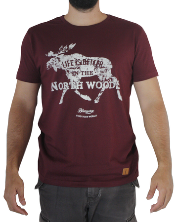 Mangas Cortas - Blueridge Remera Elk