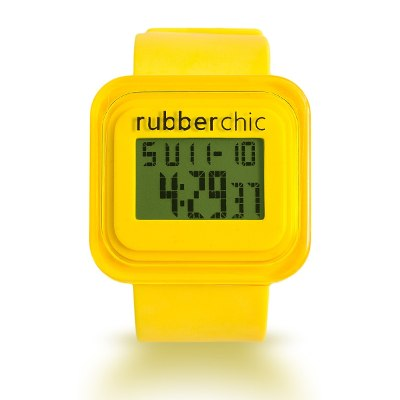 Relojes - Rubberchic Reloj Box Yellow