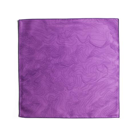 Tees - Kind Design TOPO POCKET SQUARE / PURPLE