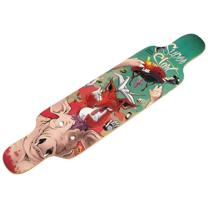 Tablas - Lab Skateboarding Deck de Longboard SuperStar Pig