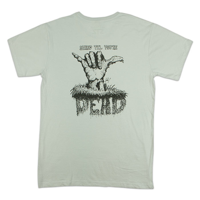 Tees - STZ Shred Til Dead | Silver