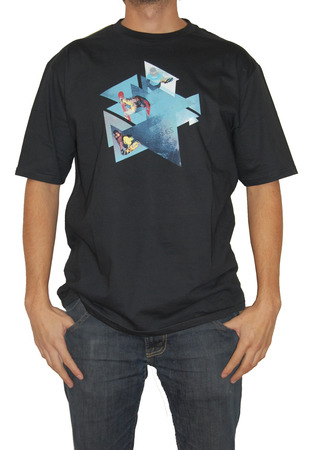 Mangas Cortas - X Games Remera Snow Triangle