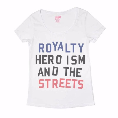 Mangas Cortas - Fight For Your Right Remera Royalty Mujer
