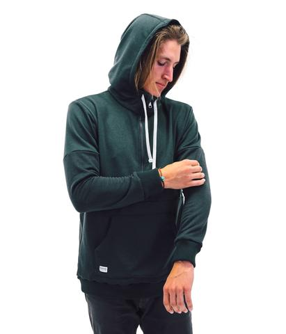 Hoodies & Sweatshirts - Desolation Supply Co The Gefo Half-zip Hoodie