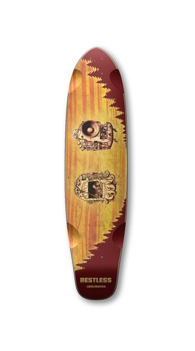 Boards - Restless Longboards RockSteady Deck Longboard - Deck only