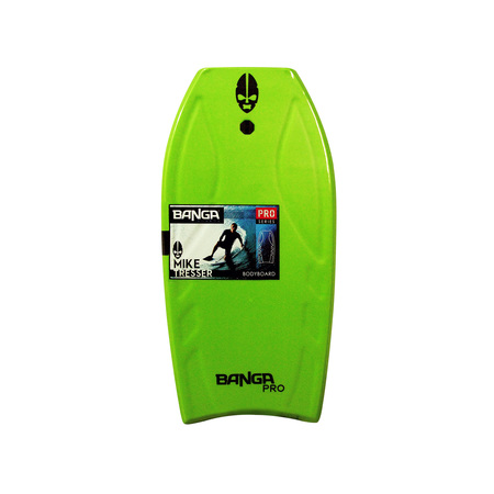 "Tablas - Banga Bodyboard Pro Series 41.5"" - Green"