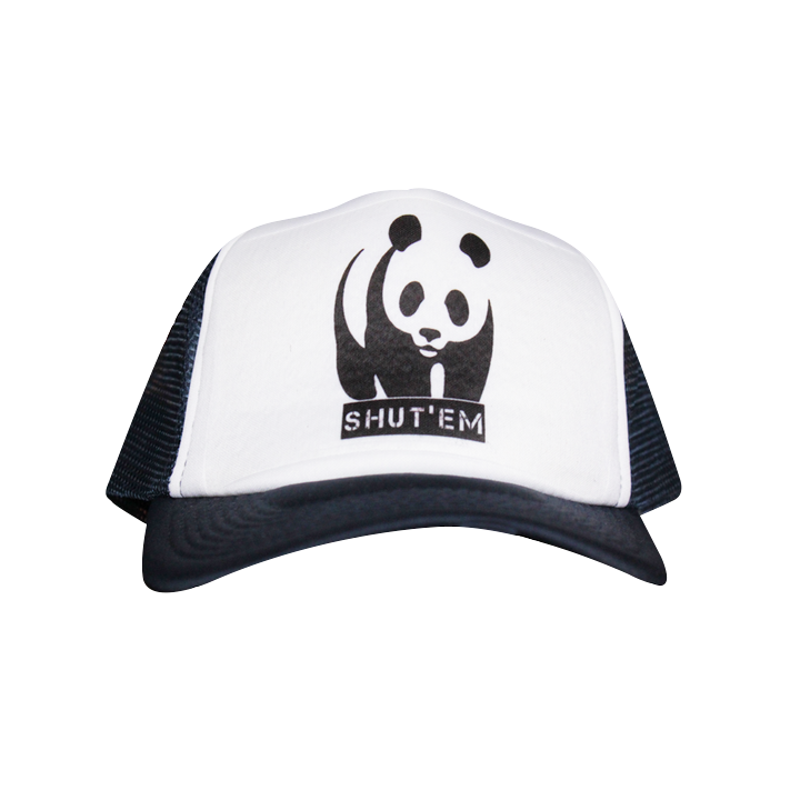 Truckers - Shut'Em Clothing Gorra Trucker Panda