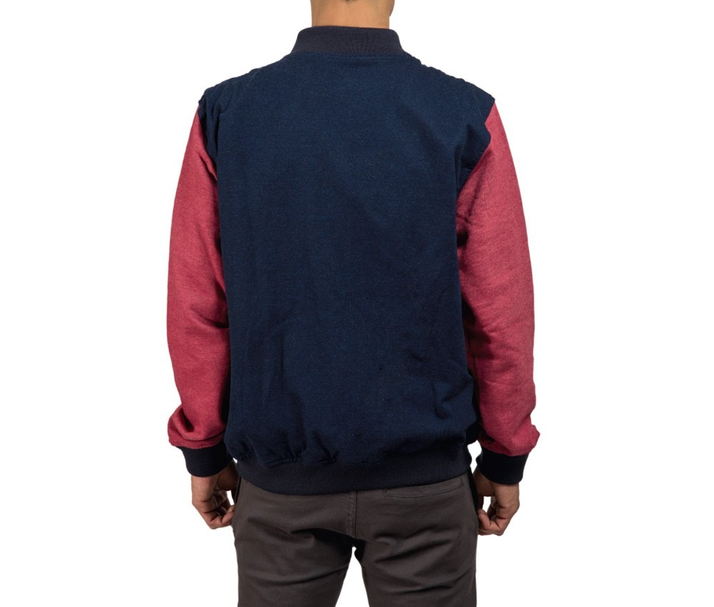 Buzos - Sismo Jacket Varsity Blue & Red